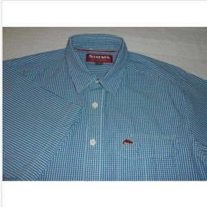 Men's Simms Short Sleeve Button Front Shirt